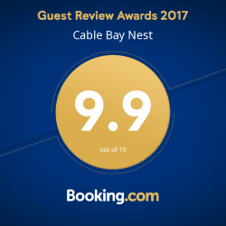 9.9 out of 10 at Booking.com!